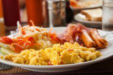 Free Breakfast Royalty Free Stock Photos - 21244838