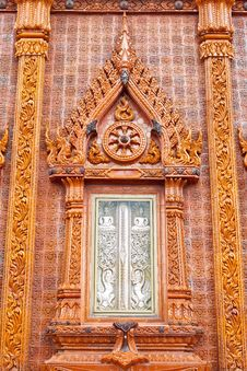 Free Wood Window In Temple,Thailand Royalty Free Stock Photography - 21244927