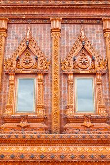 Free Wood Window In Temple,Thailand Royalty Free Stock Photography - 21244937