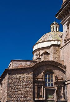 Free Cusco Cathedral Stock Photo - 21245190