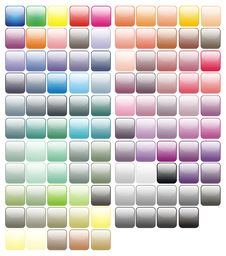 Free Paint Tray Colorful Paints Colors Stock Photography - 21245422