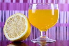 Free Lemon And Cocktail Stock Photos - 21246243