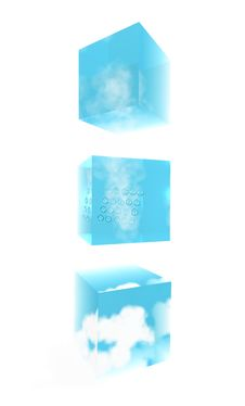 Free Cubes Of  The Weathers Royalty Free Stock Photo - 21246545
