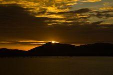 Free The Sun Set Stock Photography - 21248512