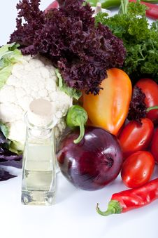 Free Fresh Salad Vegetables Royalty Free Stock Image - 21248996