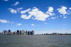 Free Manhattan VS Brooklyn Royalty Free Stock Photo - 21249015
