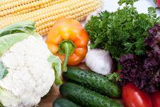 Free Fresh Salad Vegetables Stock Image - 21249051