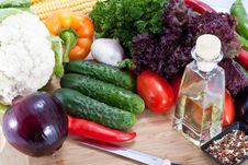 Free Fresh Salad Vegetables Stock Photo - 21249110