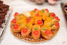 Miniature Wedding Cakes Stock Images