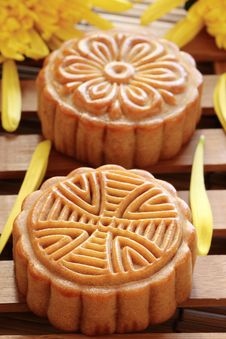 Free Mooncake Royalty Free Stock Photo - 21249305