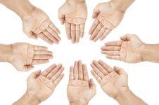 Free Human Group Hand Stock Photos - 21249413