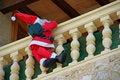 Free Santa Claus On The Balcony Stock Photo - 21255820