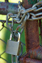 Free Padlock On A Chain Royalty Free Stock Photos - 21255838