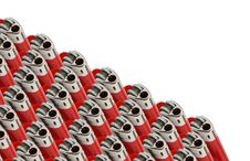 Free Lighters In A Row Royalty Free Stock Images - 21250119