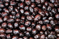 Free Black Olives Royalty Free Stock Photography - 21250407