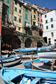 Free Italy: Cinque Terre Royalty Free Stock Photo - 21250485