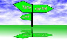 Free Signpost Stock Photo - 21251050