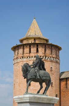 Free Monument Of Prince Dmitry Donskoy Stock Image - 21251521
