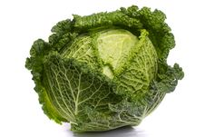Free Fresh Savoy Cabbage Royalty Free Stock Photo - 21251695