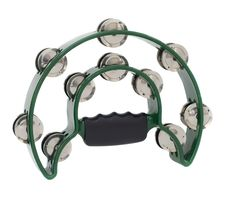 Free Green Tambourine Royalty Free Stock Images - 21252049