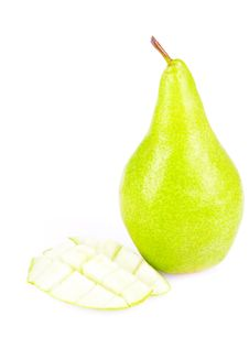 Free Juicy Sliced Pears Stock Photo - 21252900