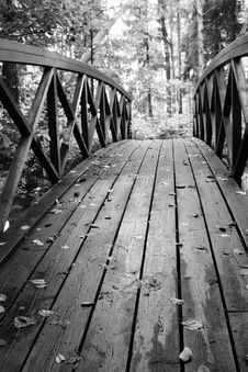 Free Wooden Bridge Stock Photo - 21253900