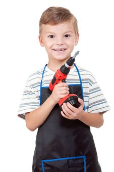Free Boy With Tools Stock Images - 21254484