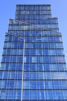 Free Prague Glass Skyscraper On The Blue Sky Stock Photography - 21255182