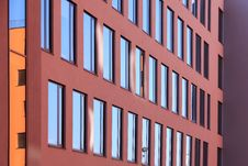 Free Detail Of Prague Colorful Modern Building Stock Photography - 21255242