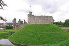 Free Cardiff Castle. Wales Royalty Free Stock Photos - 21255498
