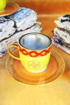 Free Teacup Royalty Free Stock Photo - 21255725