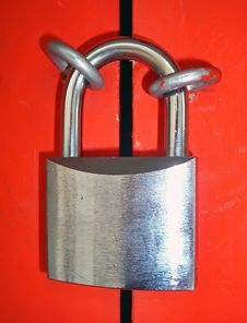 Free Closed Padlock Royalty Free Stock Images - 21255809