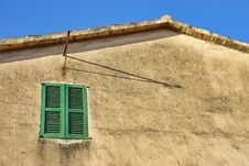 Mediterranean Window Stock Image