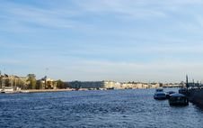 View Of The Neva River Royalty Free Stock Image