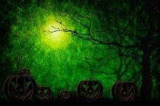 Free Grunge Textured Halloween Night Background Royalty Free Stock Photo - 21256925