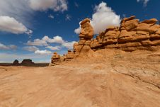 Free Goblin Valley In The Spring Stock Images - 21256934