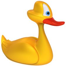 Free Yellow Toy Duck Royalty Free Stock Photos - 21257238