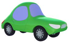 Free Green Toy Car Royalty Free Stock Photography - 21257267
