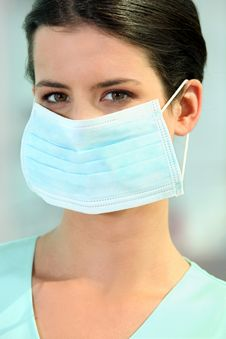 Free A Doctor Wearing A Mask Stock Images - 21257344