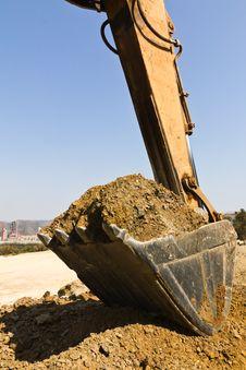 Excavator Loader Stock Images