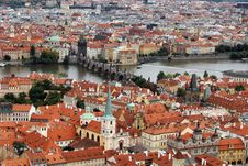 Free Prague Panorama Royalty Free Stock Photography - 21257737