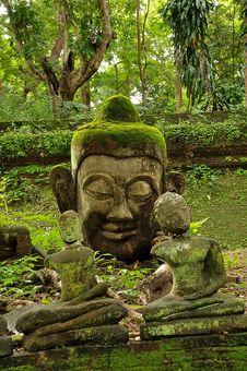 Free Head Of Buddha Stock Photos - 21257883