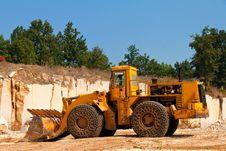 Free Orange Excavator Stock Photos - 21258773