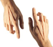 Free Isolated Hands Stock Photography - 21259752