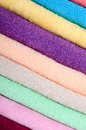 Free The Combined Colour Towels Royalty Free Stock Photos - 21261068