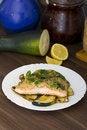 Free Cooked Salmon Stock Photo - 21263070