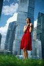 Free Red Dress Stock Image - 21269661