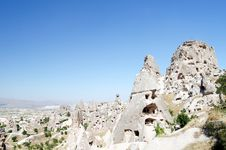 Free The Speciel Stone Formation Of Cappadocia Royalty Free Stock Photography - 21260147