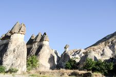 Free The Speciel Stone Formation Of Cappadocia Stock Photo - 21260150