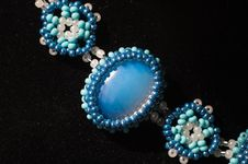 Free Ornament From Beads Royalty Free Stock Photo - 21260395